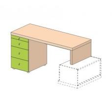 Детский письменный стол Теремок Мегаполис 53B002