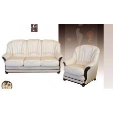 Диван индивидуальный Мебельная Лавка Napoli белый
