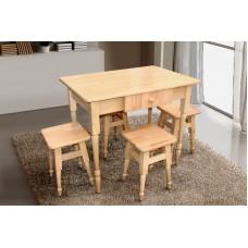 Комплект обеденный МИКС-мебель Смарт 3