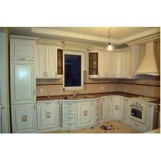 Кухня Мебельная Лавка Дерево белая