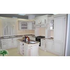 Кухня Мебельная Лавка Дерево слоновая кость