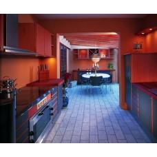 Кухня Мебельная Лавка МДФ крашенный матовый черный