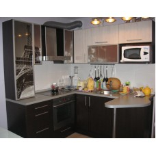 Кухня Мебельная Лавка МДФ пленочный венге комби