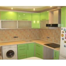 Кухня Мебельная Лавка МДФ пленочный зеленый глянец