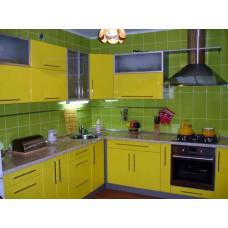 Кухня Мебельная Лавка МДФ пленочный желтый глянец