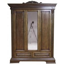 Шкаф 3-х дверный Мебус Каролина 3Д/2Ш