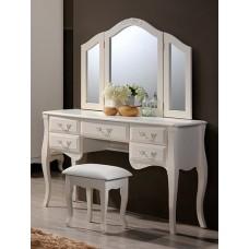 Туалетный столик Domini (Домини) Богемия +зеркало и пуф