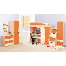 Детская комната Світ меблів Саванна оранж