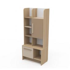 Детский книжный шкаф Бриз КВ - 04-1