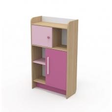 Детский книжный шкаф Бриз КВ - 04-2