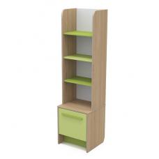 Детский книжный шкаф Бриз КВ - 05