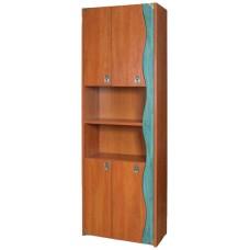 Детский книжный шкаф Теремок Капитан КН-42