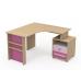 Детский письменный стол Бриз КВ - 08-2