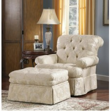 Кресло Ashley  Brilliance - Alabaster 1810021