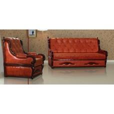 Комплект мягкой мебели Мебус Граф 3+1+1