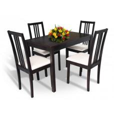 Комплект обеденный Мелитополь мебель Оптимстол+4 стула