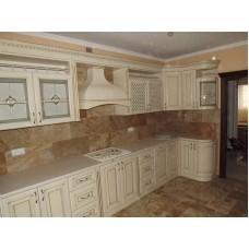 Кухня Мебельная Лавка Дерево беж