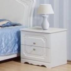 Прикроватная тумбочка Світ меблів Луиза (два выдвижных ящика)