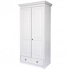 Шкаф 2-х дверный Domini (Домини) Боцен белый