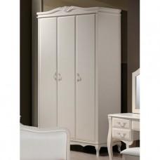 Шкаф 3-х дверный Domini (Домини) Богемия античный белый