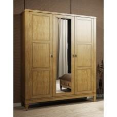 Шкаф 3-х дверный Мебус Бавария 3Д зеркало
