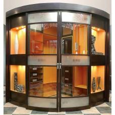 Шкаф-купе с радиусным фасадом Мебельная Лавка № 201