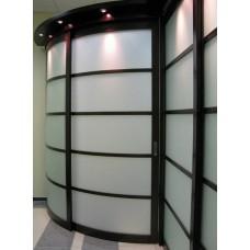Шкаф-купе с радиусным фасадом Мебельная Лавка № 202
